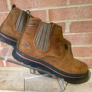 Skechers Mens Segment Dorton Boots Brown 12